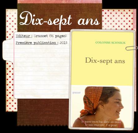 Dix-sept ans blog